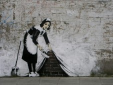 Автор: английский андеграундный художник Banksy